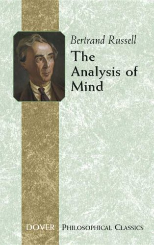 The Analysis of Mind 9780486445519