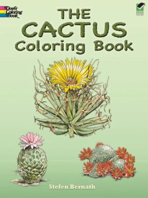 The Cactus Coloring Book 9780486240978