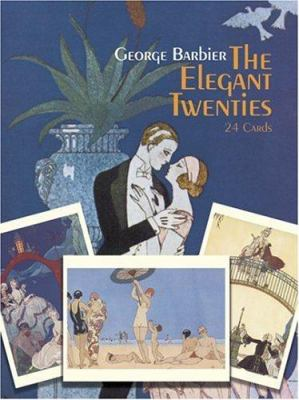 The Elegant Twenties: 24 Cards 9780486251875