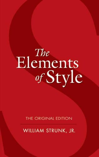 The Elements of Style 9780486447988