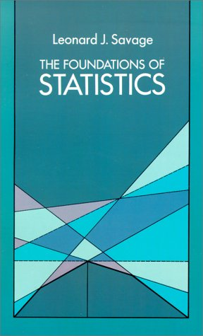 The Foundation of Statistics 9780486623498