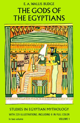 The Gods of the Egyptians, Volume 1 9780486220550