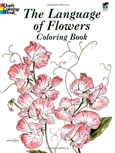 The Language of Flowers Coloring Book 9780486430355