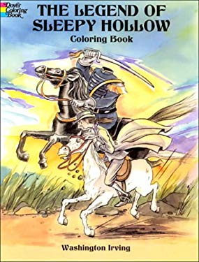The Legend of Sleepy Hollow Coloring Book 9780486410418