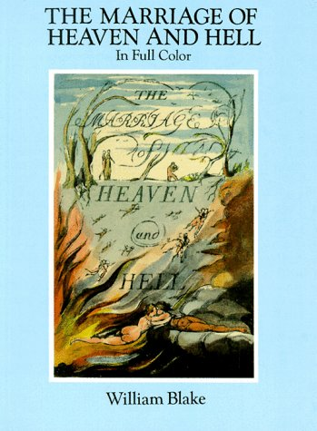 The Marriage of Heaven and Hell: A Facsimile in Full Color 9780486281223