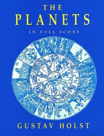 The Planets in Full Score 9780486292779