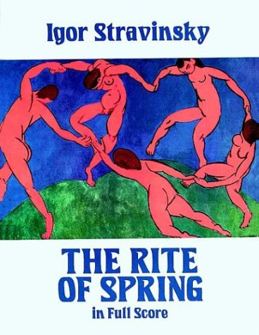 The Rite of Spring in Full Score 9780486258577