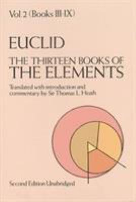 The Thirteen Books of the Elements, Vol. 2 9780486600895