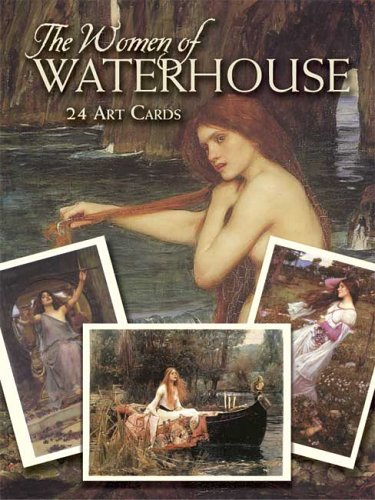The Women of Waterhouse: 24 Art Cards 9780486448848