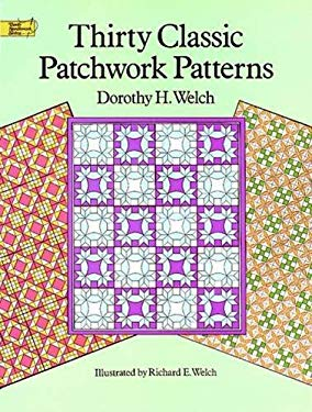 Thirty Classic Patchwork Patterns 9780486289670