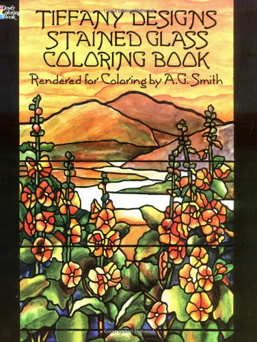 Tiffany Designs Stained Glass Coloring Book 9780486267920
