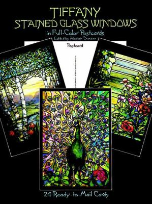 Tiffany Stained Glass Windows: 24 Cards 9780486253367