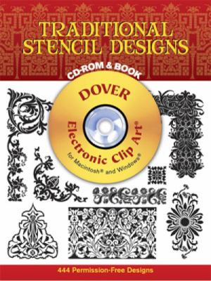 Traditional Stencil Designs [With CDROM]