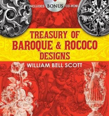 Treasury of Baroque and Rococo Designs 9780486470436