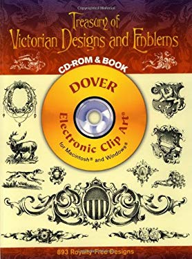 Treasury of Victorian Designs and Emblems [With CDROM] 9780486996943
