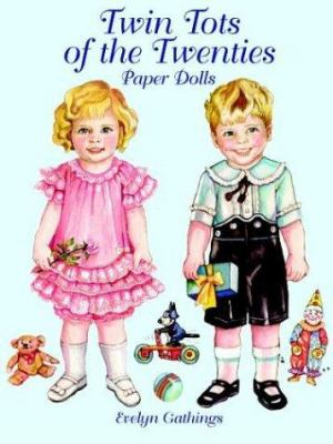 Twin Tots of the Twenties Paper Dolls Evelyn Gathings