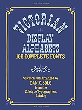 Victorian Display Alphabets 9780486233024