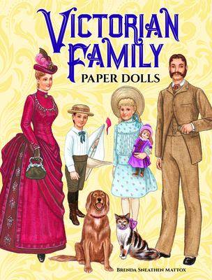 Victorian Family Paper Dolls 9780486408118