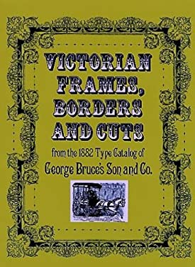 Victorian Frames, Borders and Cuts 9780486233208