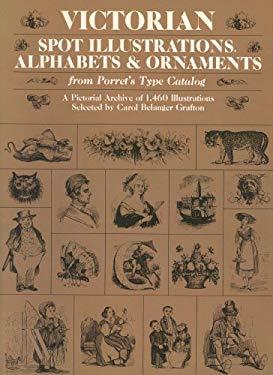 Victorian Spot Illustrations, Alphabets and Ornaments 9780486242712