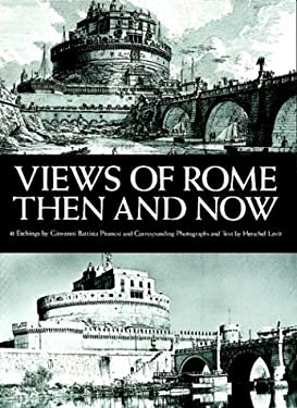 Views of Rome, Then and Now 9780486233390