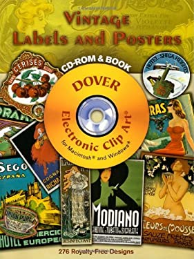 Vintage Labels and Posters [With CD-ROM] 9780486997353