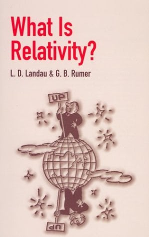 What Is Relativity? 9780486428062