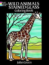 Wild Animals Stained Glass Coloring Book 1597268