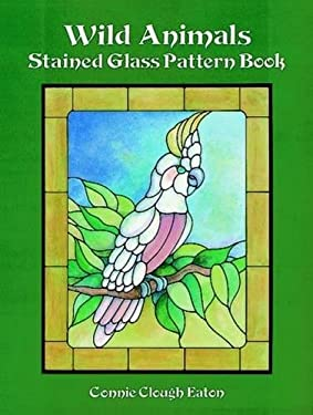 Wild Animals Stained Glass Pattern Book 9780486293370