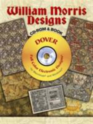 William Morris Designs [With CD-ROM] 9780486997339
