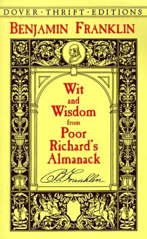 Wit and Wisdom from Poor Richard's Almanack 9780486408910