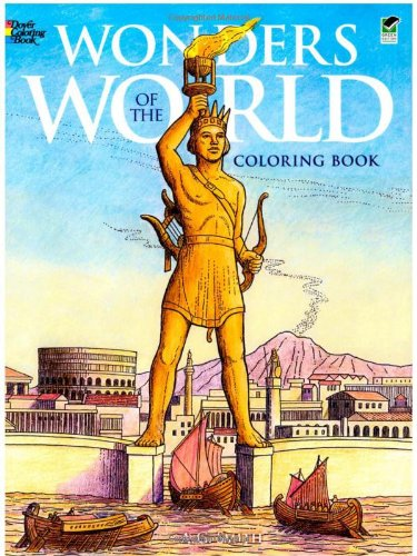 Wonders of the World Coloring Book 9780486430447