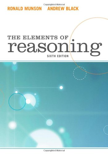 The Elements of Reasoning 9780495809180