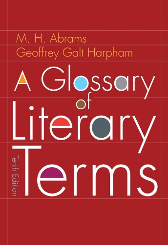 A Glossary of Literary Terms 9780495898023