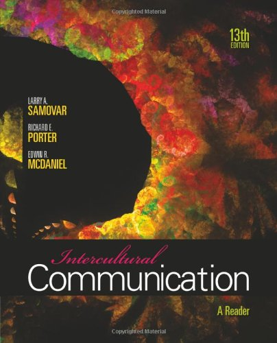 Intercultural Communication: A Reader 9780495898313