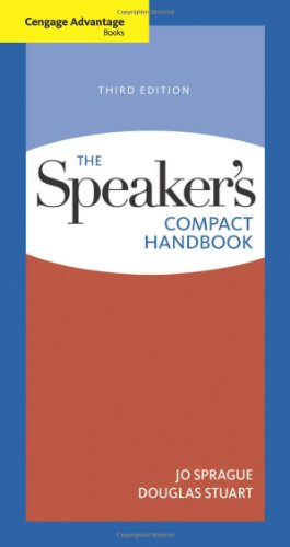 Cengage Advantage Books: The Speaker's Compact Handbook 9780495898337