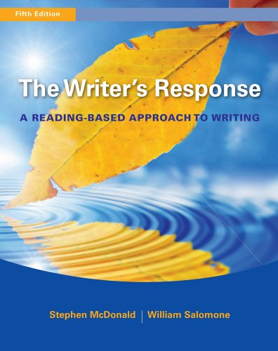 The Writer's Response: A Reading-Based Approach to Writing 9780495906261