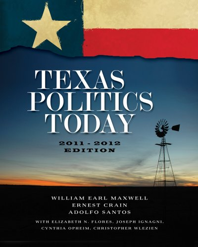 Texas Politics Today 9780495909484