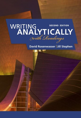Writing Analytically: With Readings 9780495910077