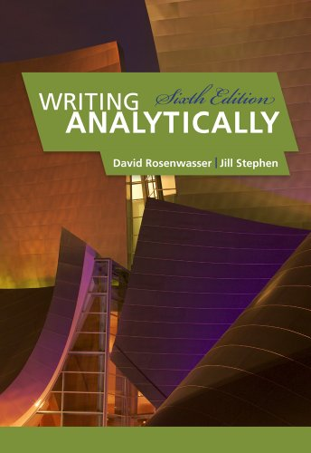 Writing Analytically - 6th Edition