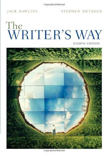The Writer's Way 9780495911449