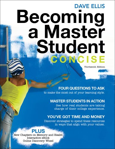 Becoming a Master Student, Concise 9780495912811