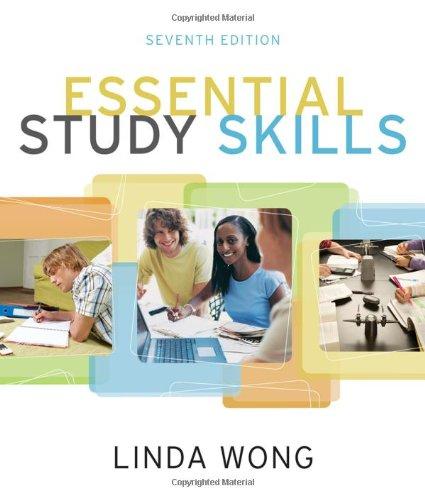 Essential Study Skills 9780495913504