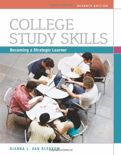 College Study Skills: Becoming a Strategic Learner 9780495913511