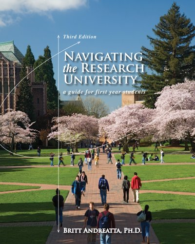 Navigating the Research University: A Guide for First-Year Students 9780495913788
