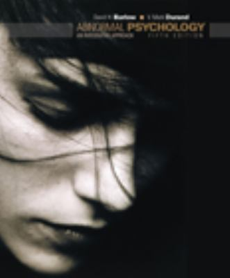 Abnormal Psychology: An Integrative Approach [With CDROM] 9780495095569