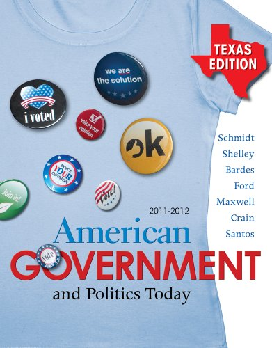 American Government and Politics Today, Texas Edition 9780495909491