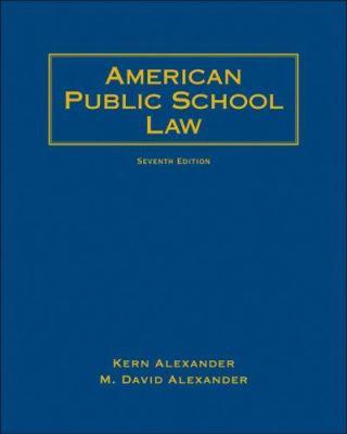American Public School Law 9780495506195