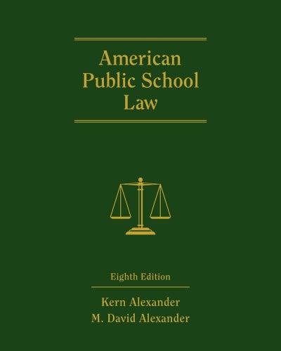 American Public School Law - 8th Edition