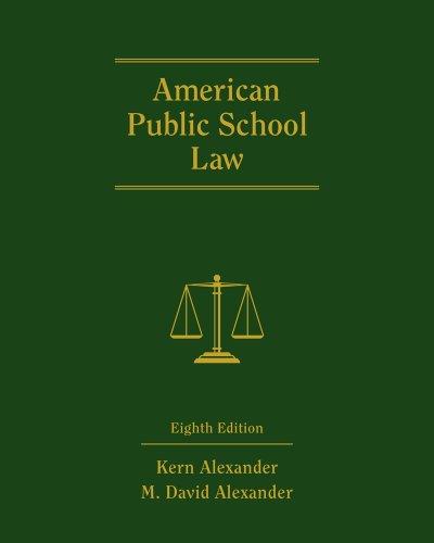American Public School Law 9780495910497